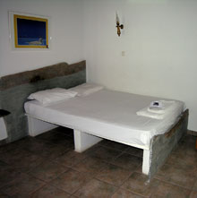 traditional cycladic bed